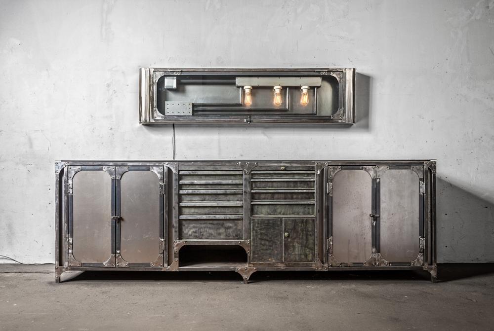 kommode metall das beste aus wohndesign und m bel. Black Bedroom Furniture Sets. Home Design Ideas
